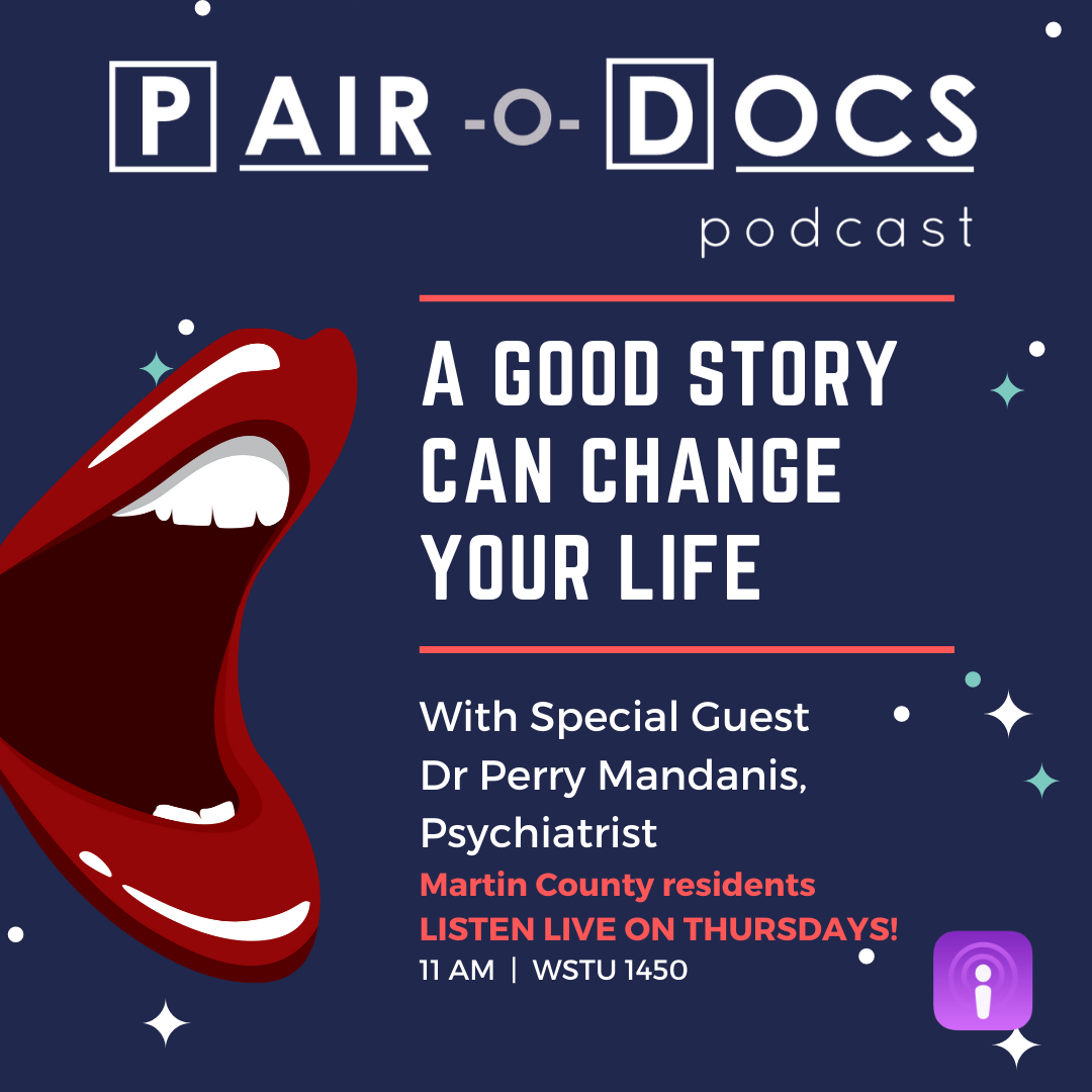 Power of a good story healthcare podcast